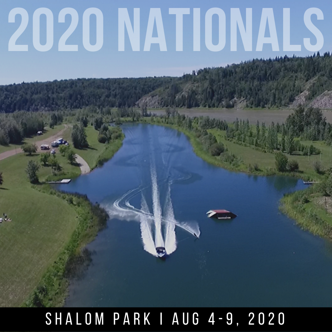 BULLETIN #1 NOW AVAILABLE FOR THE 2020 CANADIAN WATER SKI NATIONALS