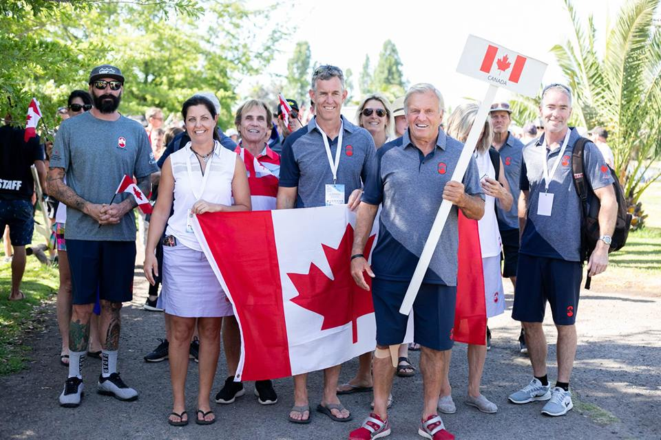 OUTSTANDING PERFORMANCES FROM TEAM CANADA AT THE 35+ WATER SKI WORLDS