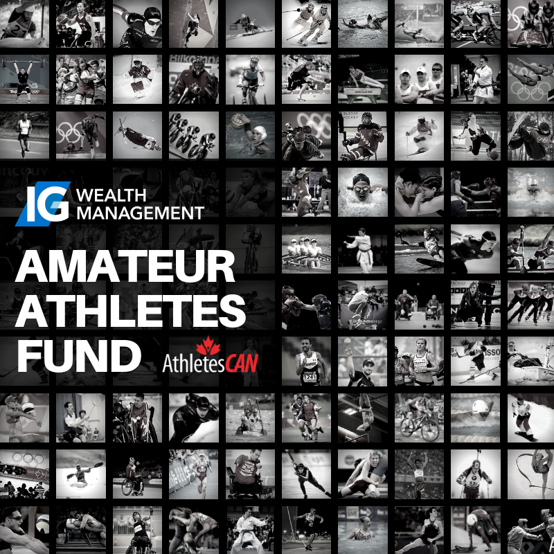 IG WEALTH MANAGEMENT AMATEUR ATHLETES FUND – APPLY TODAY