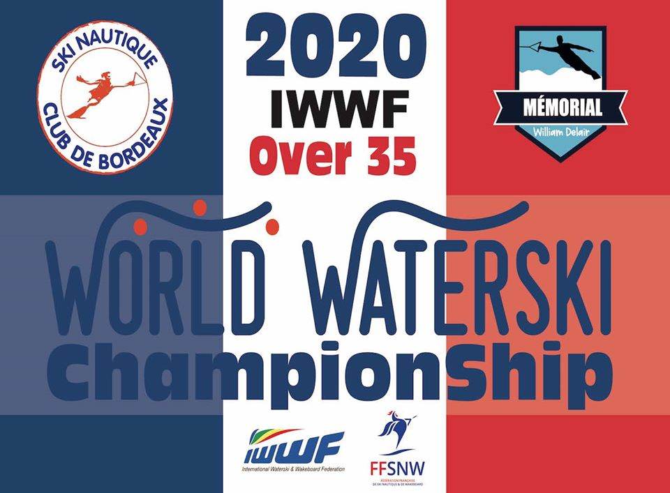 2020 IWWF WORLD +35  WATER SKI CHAMPIONSHIPS BULLETIN #1 NOW AVAILABLE