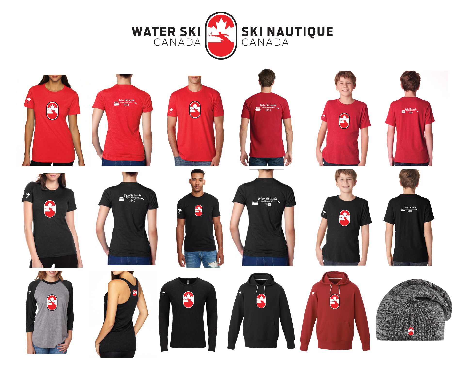 FLASH SALE ON NOW!!! WATER SKI CANADA APPAREL AVAILABLE FOR A LIMITED TIME.