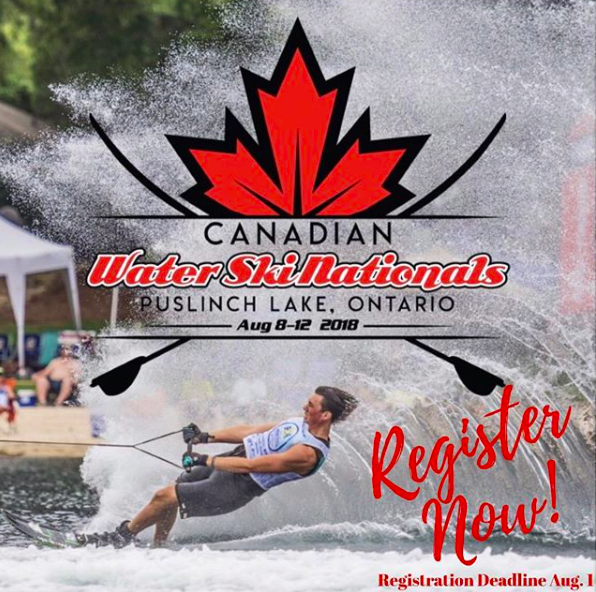 11 DAYS AWAY FROM THE 2018 CANADIAN NAUTIQUE WATER SKI NATIONALS
