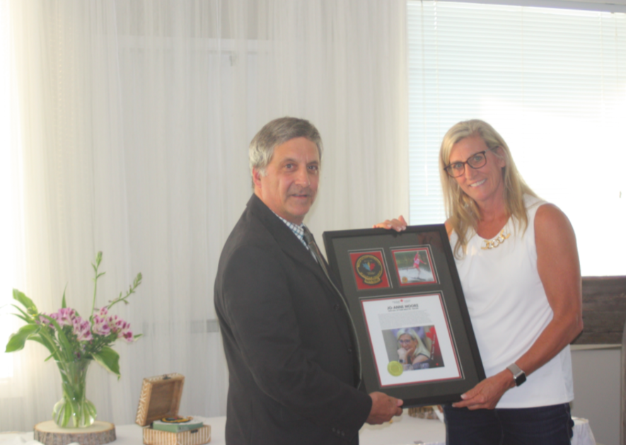 JO-ANNE MOORE INDUCTED INTO WATER SKI AND WAKEBOARD CANADA'S HALL OF FAME AT THE CHUCK MOORE MEMORIAL