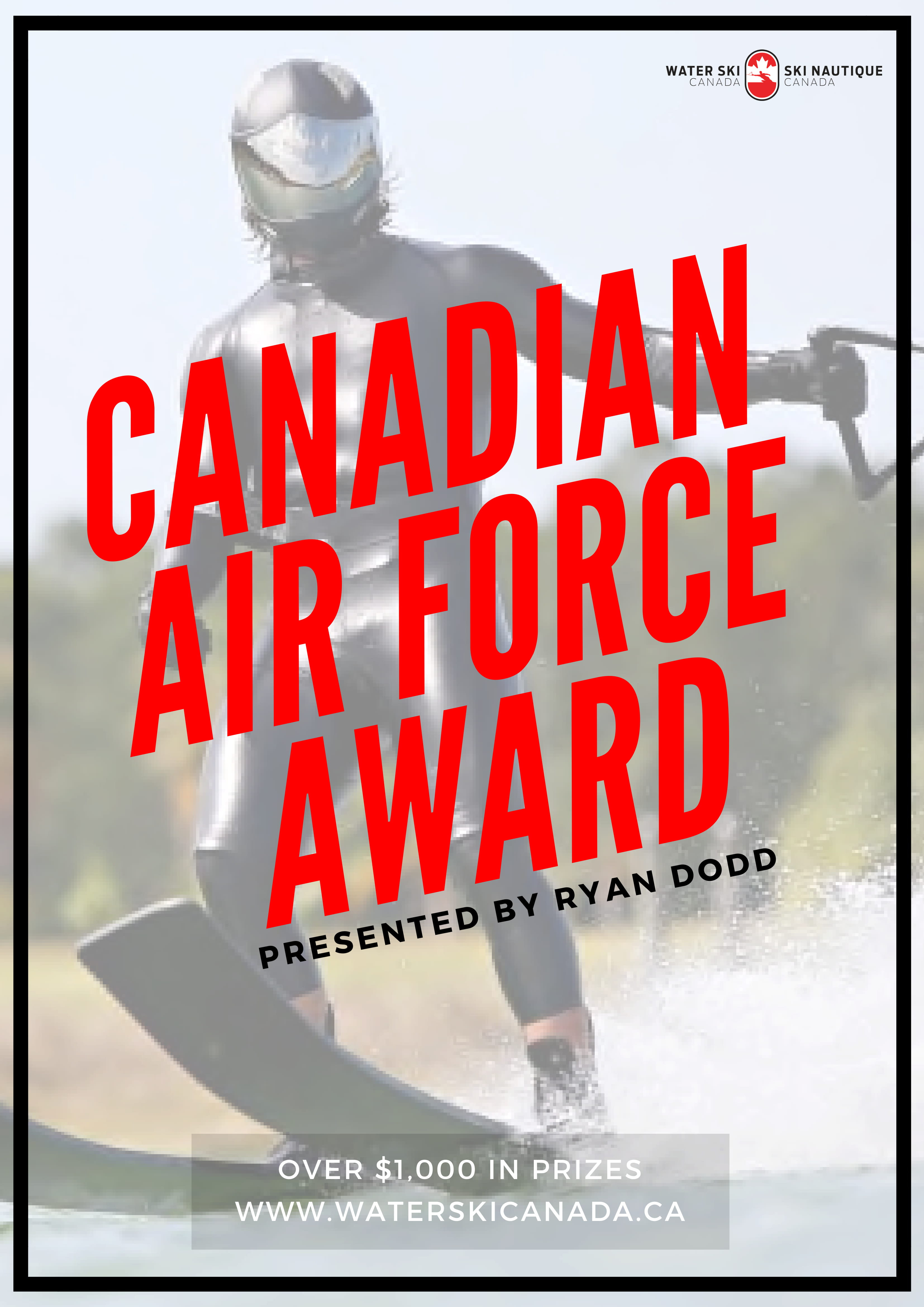 2018 CANADIAN AIR FORCE AWARD – VOTE NOW