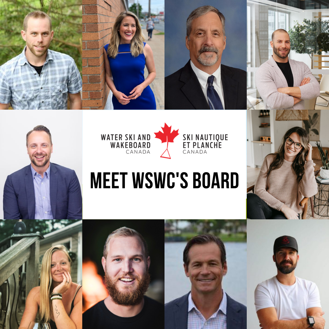 MEET WATER SKI AND WAKEBOARD CANADA'S BOARD OF DIRECTORS